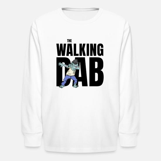 464b9f47f Dab T-Shirts - The Walking Dab Halloween zombie boy dabbing black - Kids'