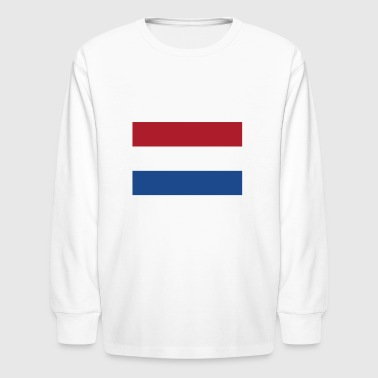 Flag of the Netherlands Cool Dutch Flag - Kids' Long Sleeve T-Shirt