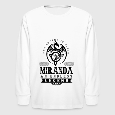 MIRANDA - Kids' Long Sleeve T-Shirt
