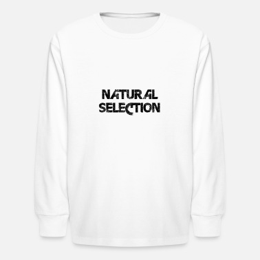 Selection Natural selection - Kids' Longsleeve Shirt