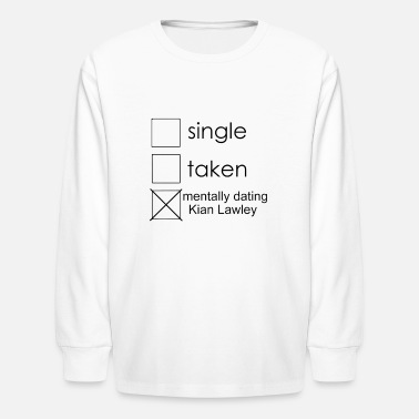 Single single Kian - Kids' Longsleeve Shirt