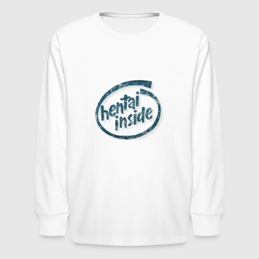Loli ytrrtyrtyt1ghfghage3 vectorized04 DIST GOOD - Kids' Long Sleeve T-Shirt