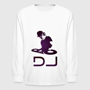 DJ Cool DJ - Kids' Long Sleeve T-Shirt