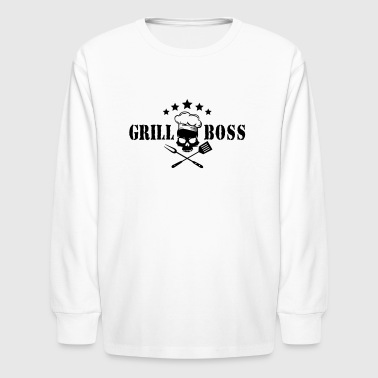 grill boss - Kids' Long Sleeve T-Shirt