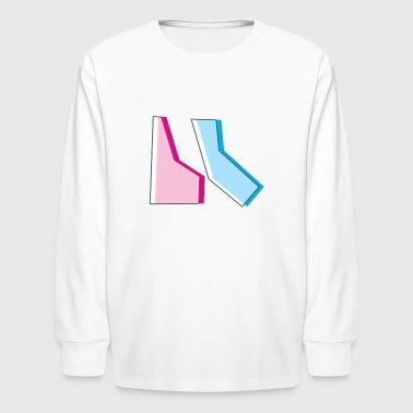 State Shapes - Kids' Long Sleeve T-Shirt