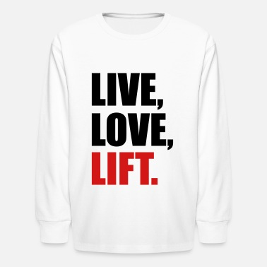 Weight Lifting weight lifting - Kids' Long Sleeve T-Shirt