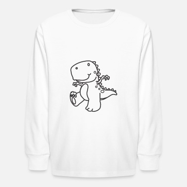 Cute Dinosaurs Cute Dinosaur - Kids' Long Sleeve T-Shirt