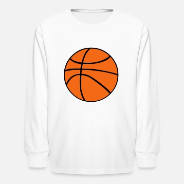 Basketball Player Basketball - Kids' Long Sleeve T-Shirt