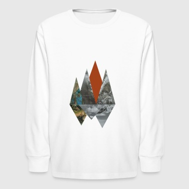 Peaks - Kids' Long Sleeve T-Shirt
