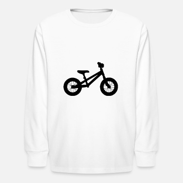 Balance Bike balance bike - Kids' Long Sleeve T-Shirt