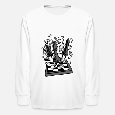 Chess Chess - Kids' Longsleeve Shirt