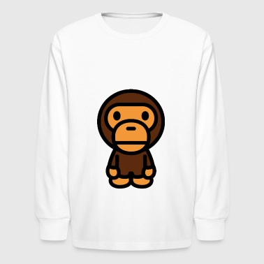 Bathing Ape - Kids' Long Sleeve T-Shirt