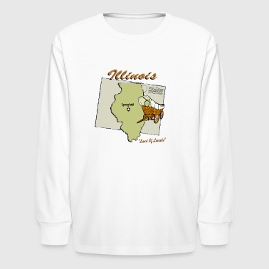 Illinois - Kids' Long Sleeve T-Shirt