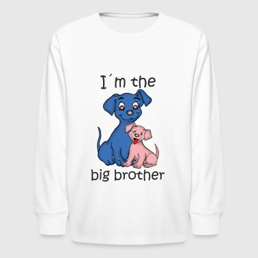 I'm the Big Brother - Kids' Long Sleeve T-Shirt