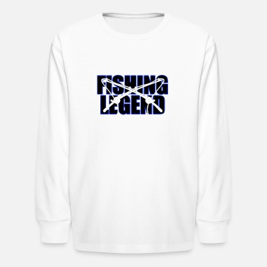 Fishing legend - Kids' Longsleeve Shirt