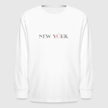 Big Apple New York - Big Apple - Kids' Long Sleeve T-Shirt