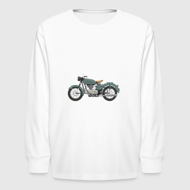 old school bike - Kids' Long Sleeve T-Shirt