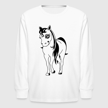 Pony - Kids' Long Sleeve T-Shirt