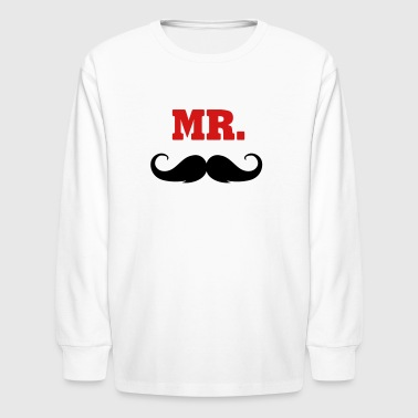mr. -  MR - Kids' Long Sleeve T-Shirt
