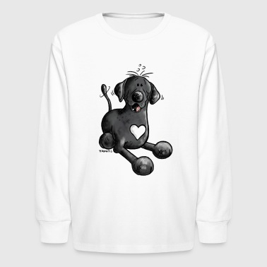 Labrador Funny Labrador Retriever - Dog - Kids' Long Sleeve T-Shirt