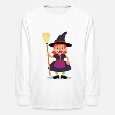 Witch Witch - Kids' Longsleeve Shirt
