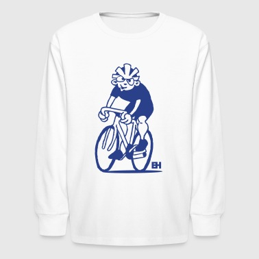 Kid Cycling Cyclist - Cycling Kids' Shirts - Kids' Long Sleeve T-Shirt
