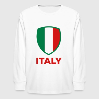 National Flag of Italy - Kids' Long Sleeve T-Shirt
