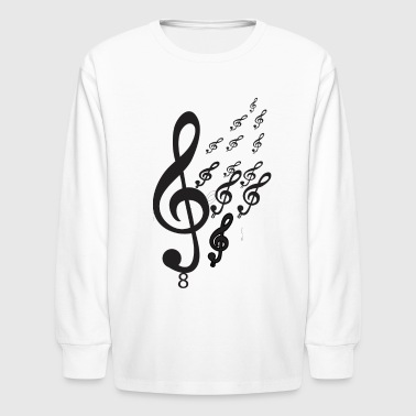 Musical Music - Kids' Long Sleeve T-Shirt