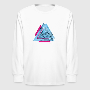 AD triangle - Kids' Long Sleeve T-Shirt