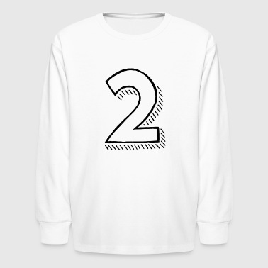 Two - Kids' Long Sleeve T-Shirt