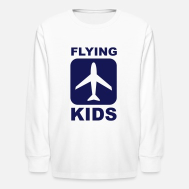 Turbo Kids Flying Kids - Kids' Long Sleeve T-Shirt