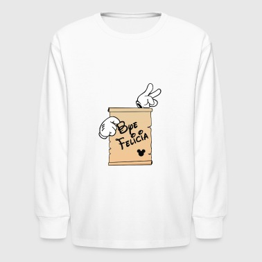 Cyber Bye Felicia System - Kids' Long Sleeve T-Shirt