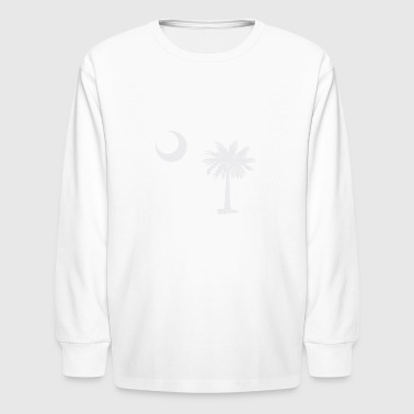 South Carolina Flag - Kids' Long Sleeve T-Shirt
