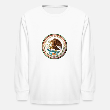 Mexicano ORGULLO MEXICANO (MEXICAN PRIDE) - Kids' Longsleeve Shirt
