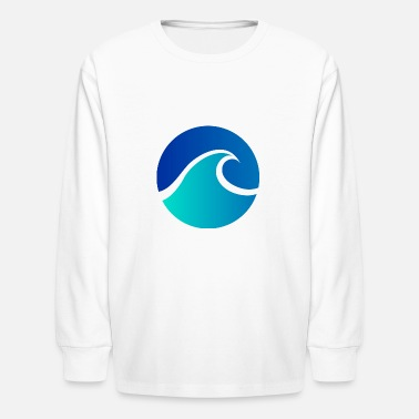 Verão Summer - Wave - Design - Water - Vacation - Kids' Longsleeve Shirt