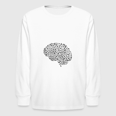 Money Brain - Kids' Long Sleeve T-Shirt