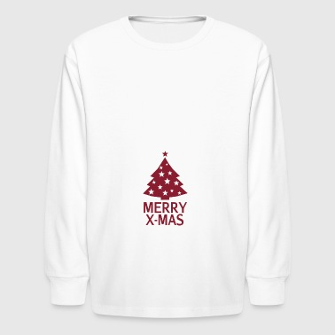 Merry X-Mas - Kids' Long Sleeve T-Shirt