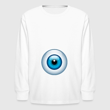 Eyeball - Kids' Long Sleeve T-Shirt