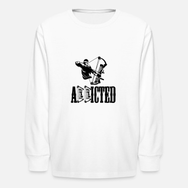ADDICTED Bowman - Kids' Long Sleeve T-Shirt