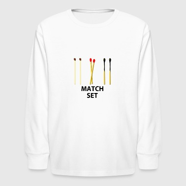 Match MATCH SET - Kids' Long Sleeve T-Shirt
