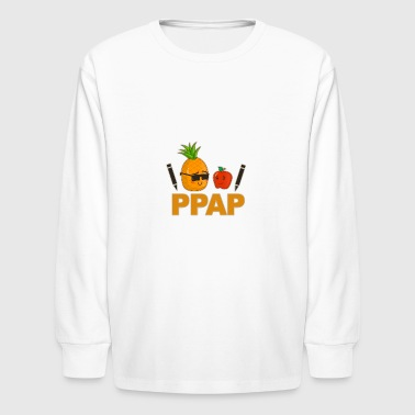 Pen Pineapple Apple Pen - Kids' Long Sleeve T-Shirt
