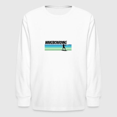 Wakeboard Retro Wakeboarding - Kids' Long Sleeve T-Shirt