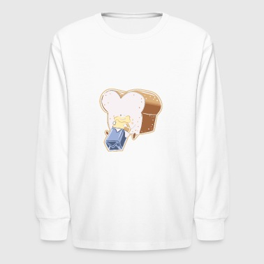 You are the Butter to my Bread - Kids' Long Sleeve T-Shirt