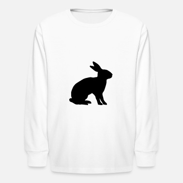 Black Bunny - Kids' Longsleeve Shirt