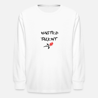 Uicideboy WASTED TALENT - Kids' Long Sleeve T-Shirt