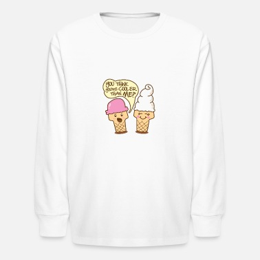 Cool Christian Cool Ice Cream - Kids' Longsleeve Shirt
