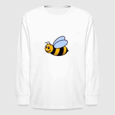 Cute Bee - Kids' Long Sleeve T-Shirt