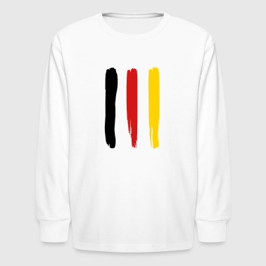 GERMANY FLAG - Kids' Long Sleeve T-Shirt