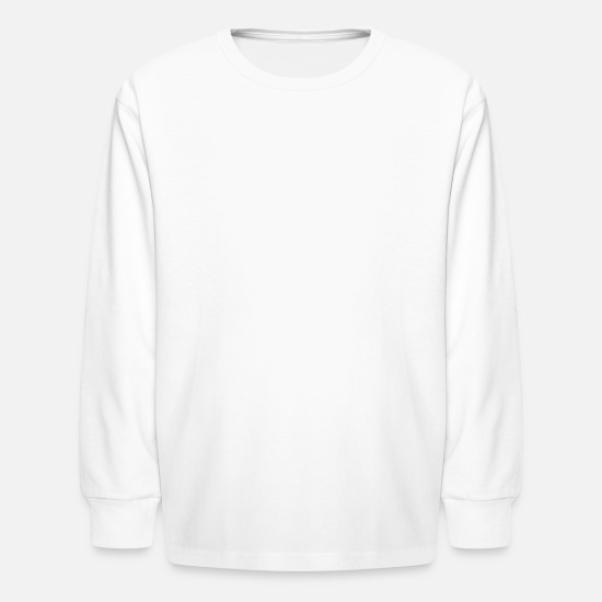 Jazz-music Long-Sleeve Shirts - Trumpet Player Musician Jazz Music - Kids' Longsleeve Shirt white