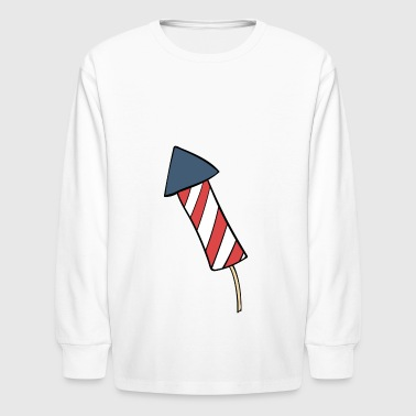 fireworks - Kids' Long Sleeve T-Shirt